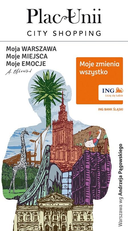 Warszawa Andrzeja Pągowskiego - konkurs Moje Miasto
